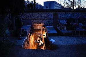 Spain civil war graves exhumed