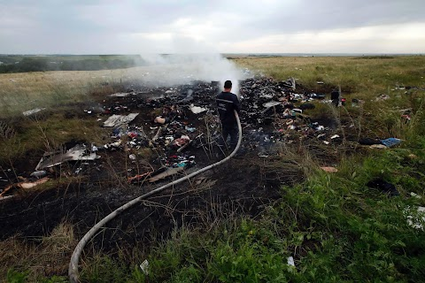 Airliner downed over Ukraine