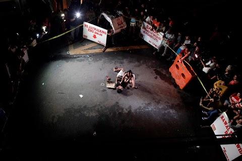 A death in Manila