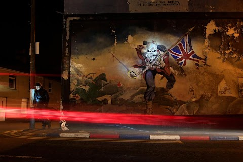 Changing murals of Northern Ireland
