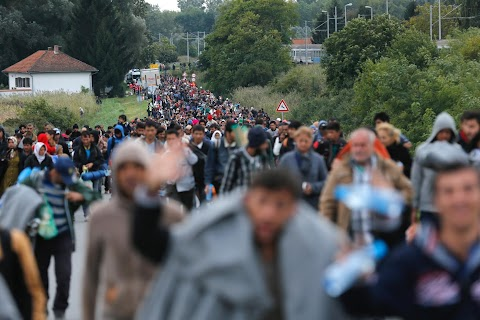 Migrant routes a year on