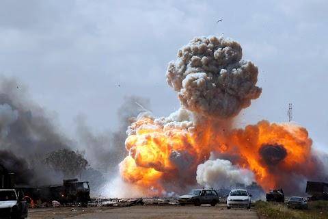 Explosion in Benghazi
