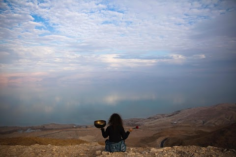 Vanishing Dead Sea - a hermit haven