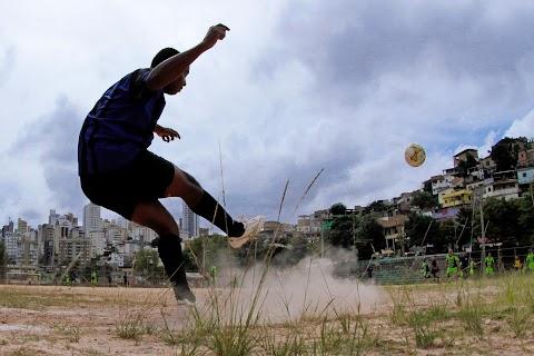 Brazil's 'naked' soccer