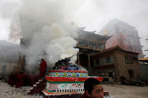 Burning for Tibet