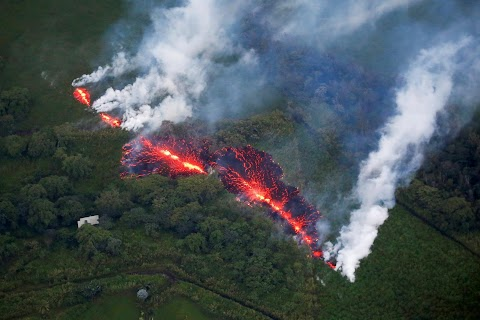 Burning lava, hot ash: Kilauea's human toll