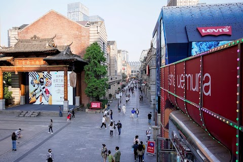 Before and After: life is slowly re-emerging in Wuhan