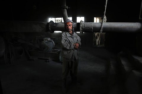 Trying to rebuild Afghanistan's shattered industry