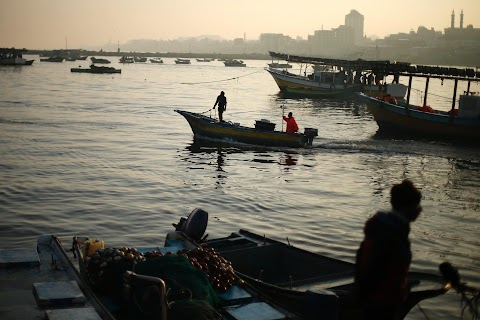 Fishing in Gaza