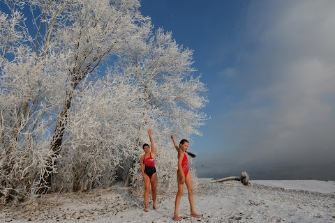 Swimming in Siberia
