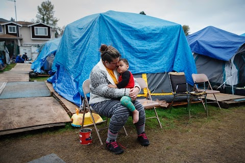 Homeless in America's tent cities