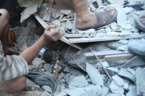 Beneath the rubble