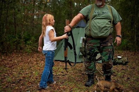 Training kids with guns