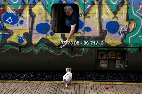 Train travel picks up in Greece