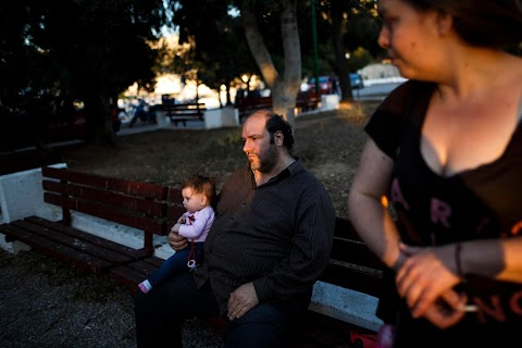 Greece crisis: one family's struggle