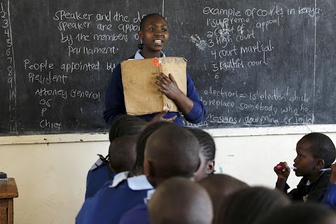 Kenya's teachers down tools