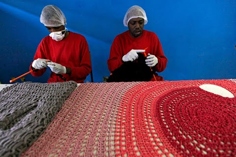 Prison knitters