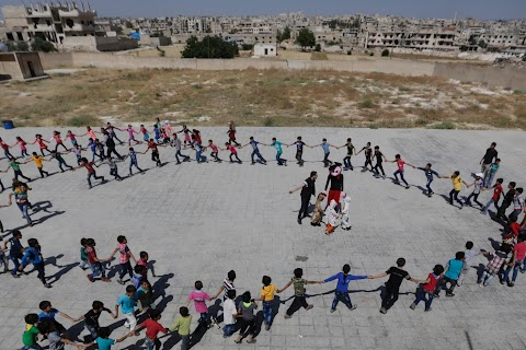 Going to school in Syria