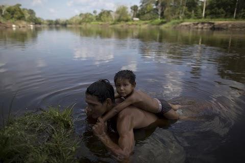 Sun in the Amazon