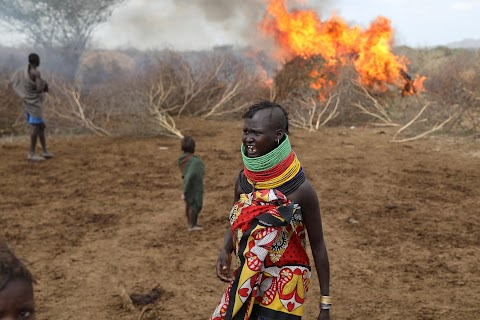 When raiders menace in northern Kenya, grab your guns