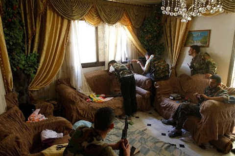 Inside Syria with rebel forces