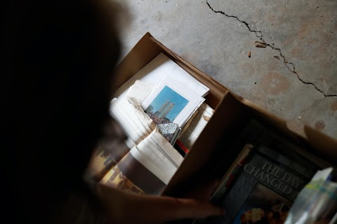 September 11 attacks fuse photographer and survivor in trauma