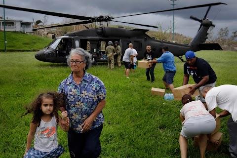 Bringing aid to Puerto Rico