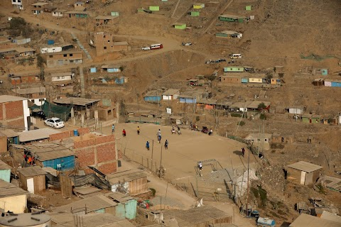 In Peru, a soccer field unites shantytown community