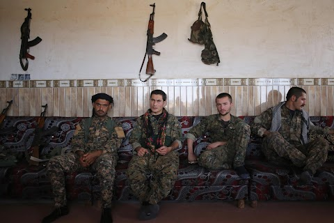 On patrol with the Sinjar Resistance Units