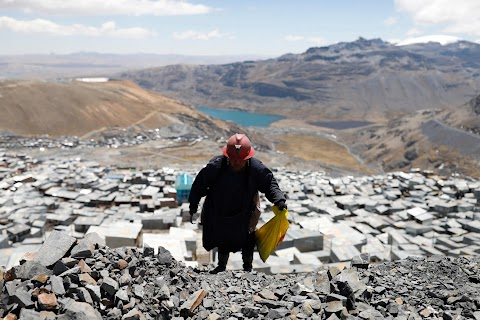 Meet the women who scavenge for gold at the top of the world