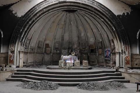 Iraqi Christians return to Qaraqosh with fear and hope