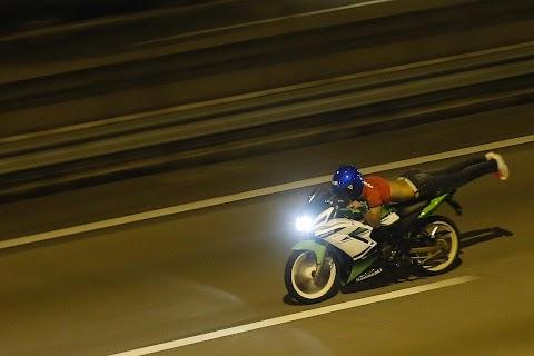 Street racing in Kuala Lumpur