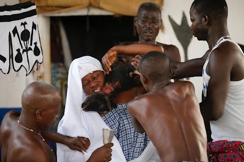 Voodoo festival of Benin