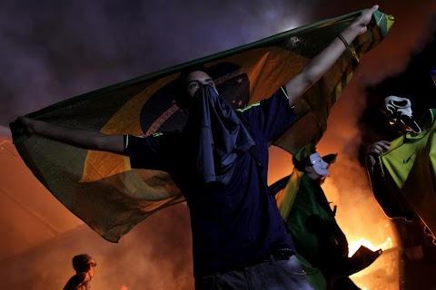 Brazil boils over