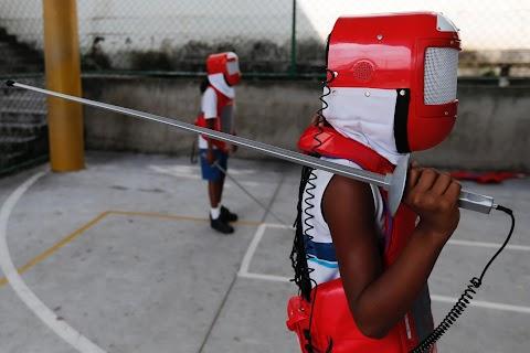 Fencing fit in Rio