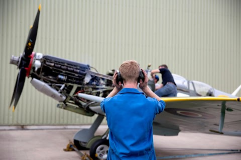 Spitfires take to the skies