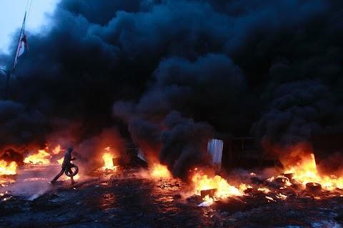 Kiev aflame