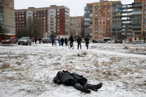 A death in Kramatorsk