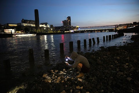 Searching for history along the Thames