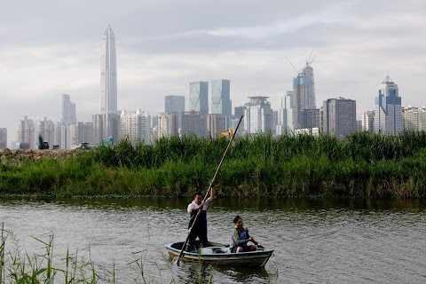 In Hong Kong's tranquil borderlands, two systems co-exist
