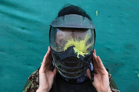 Paintballing in Kabul