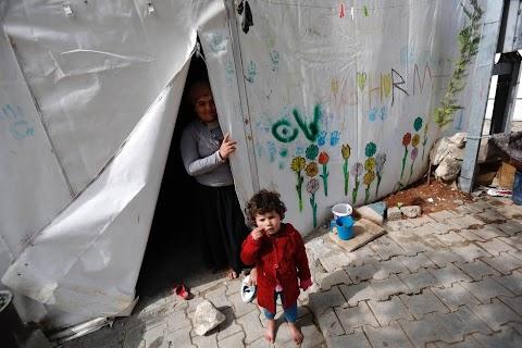 A precarious life beyond Syria