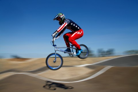 BMX athlete bounces back
