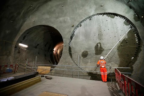 Tunnelling under London