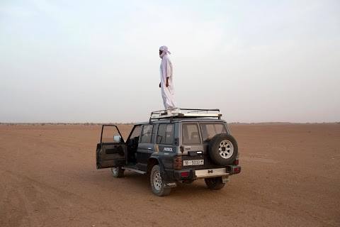 Human smugglers of the Sahara