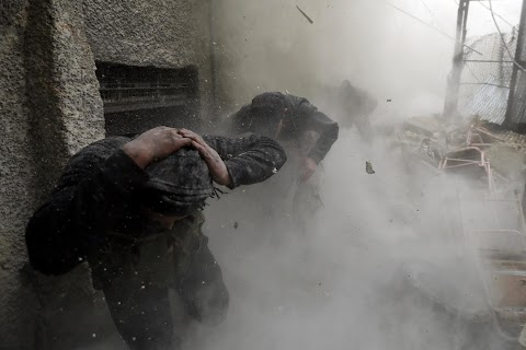 Under fire in Damascus