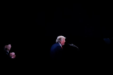 For Trump, a year of high drama at home and abroad