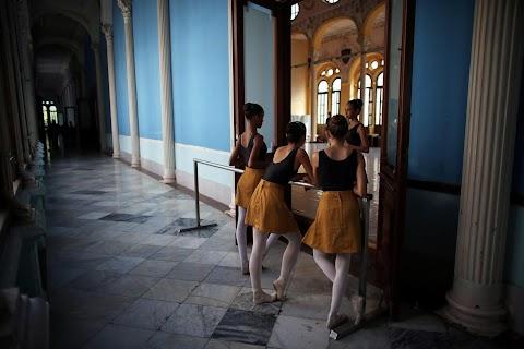An American dance student in Havana