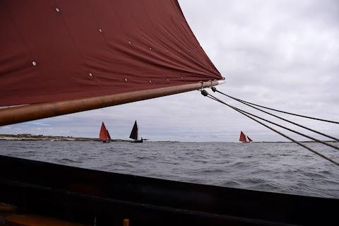 Seafarers' pilgrimage to MacDara's Island