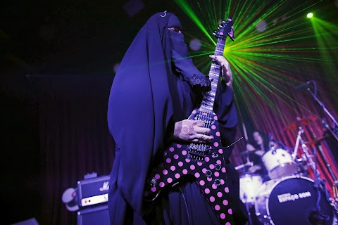 Heavy metal in a burqa